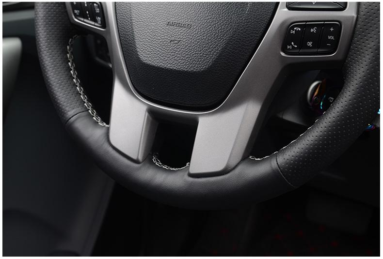 Bao da vô lăng loại khâu Ford Ranger 2018 - ảnh 7
