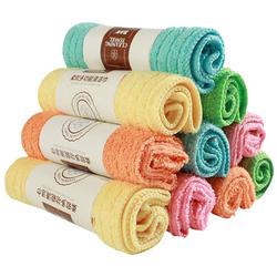抹布不沾油吸水不掉毛家务清洁加厚厨房用品毛巾洗碗巾家用洗碗布