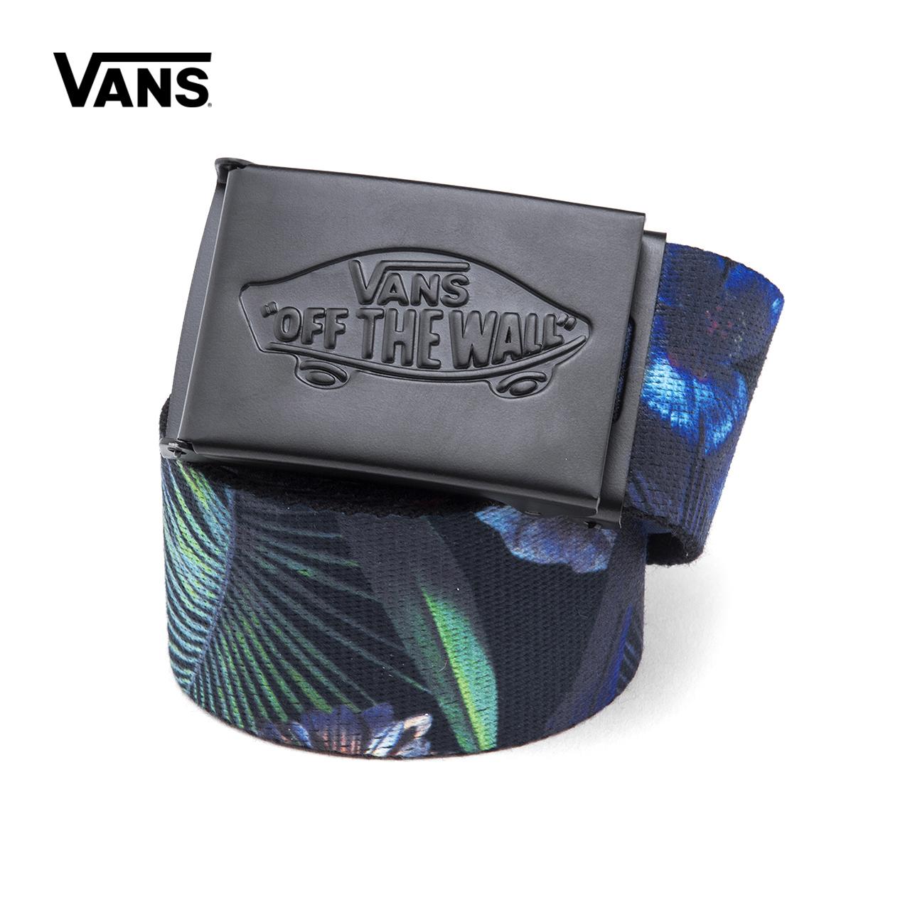 Vans/ модель этот весна черный лист печать мужской ремень |VN0A31J3PI3