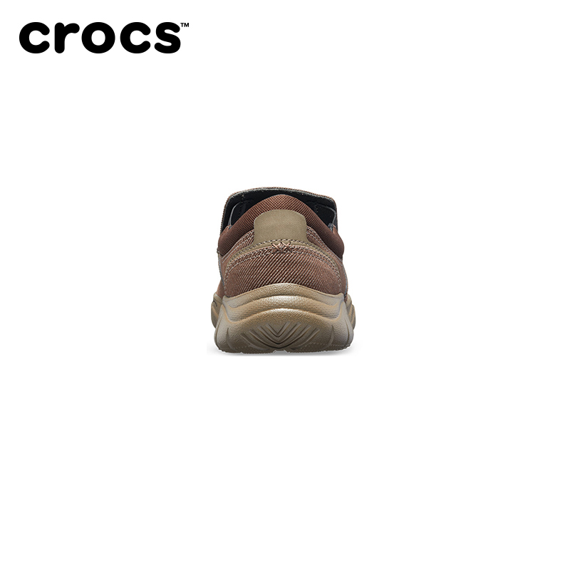 Crocs男低帮鞋卡骆驰激浪休闲厚底帆布平底