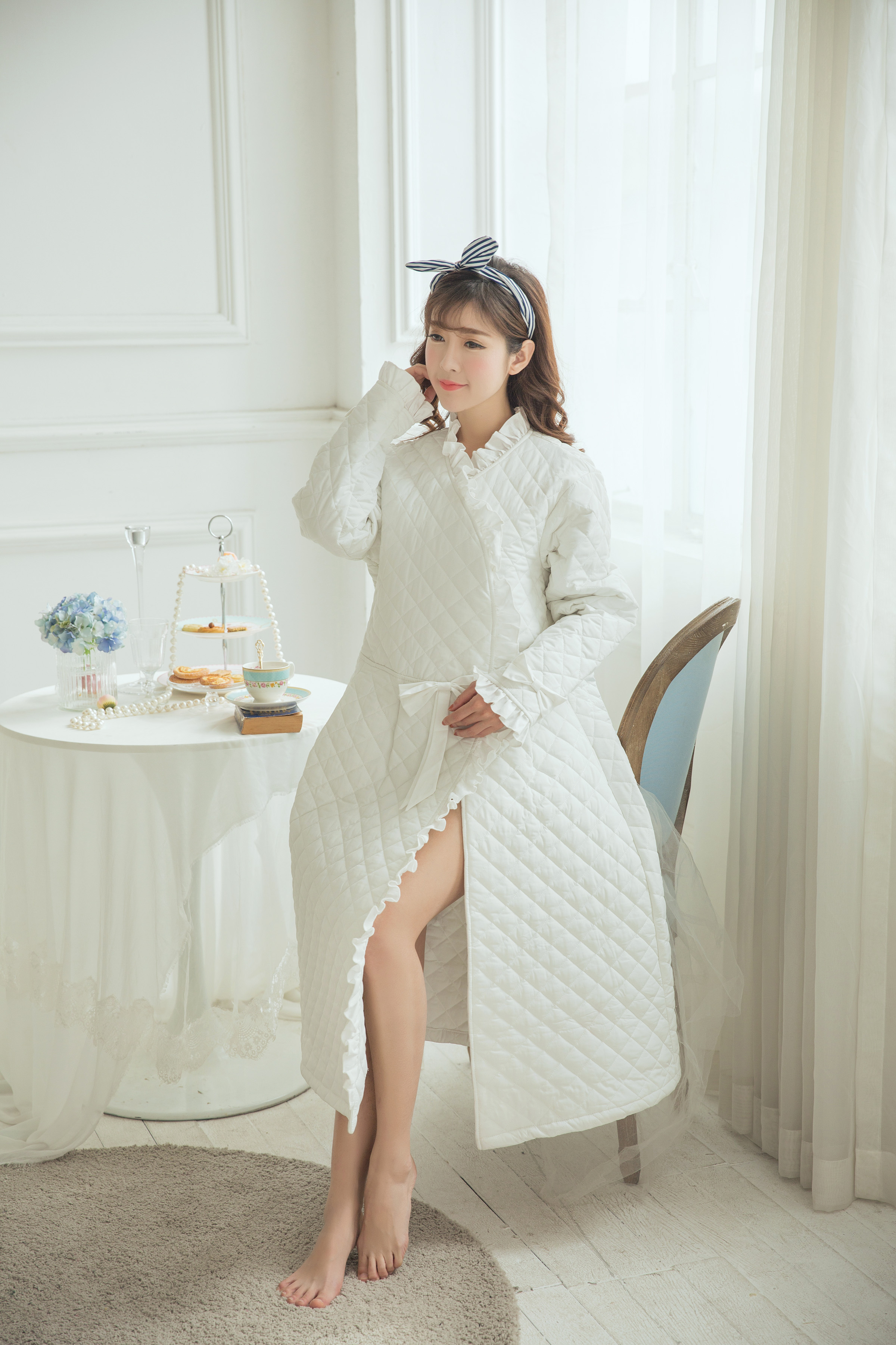 c484c6e12a USD 106.98  (Elegant) sweet style Princess thickening long ...