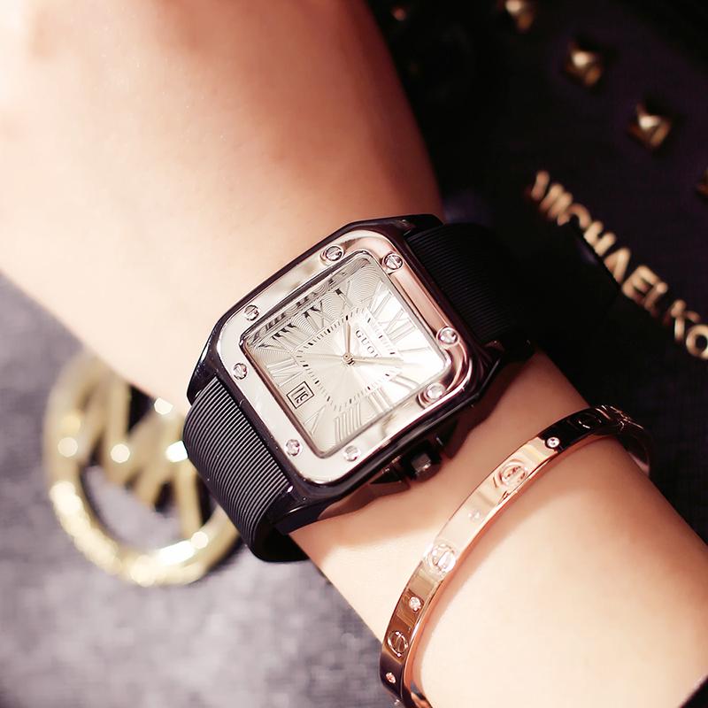3db88ec374 Guou guou retro ladies watch simple student college wind waterproof fashion  tide 2019 new quartz watch