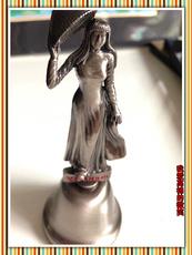 Этнический сувенир Вьетнам красота скульптура латунь-пан