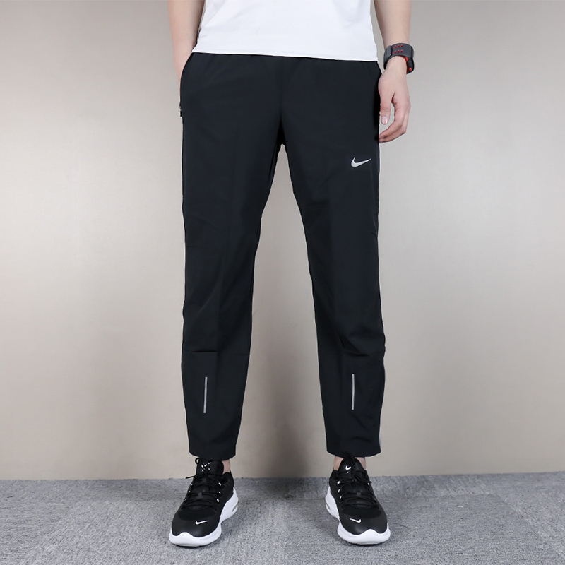 0d9e73817f71 Nike Men s pants 2018 New straight loose woven running sports casual pants  trousers 683886-010