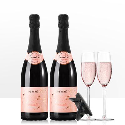 无醇葡萄酒起泡酒果酒女士0度无酒精葡萄汁气泡脱醇进口香槟甜酒