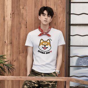 【100%纯棉】时尚印花短袖T恤