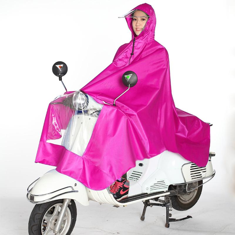 加厚摩托自行车电动车雨披 淘礼金更实惠