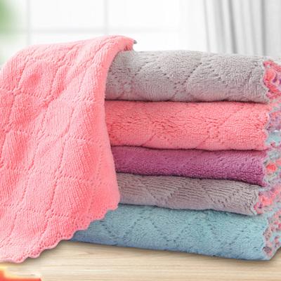 家用抹布洗碗布巾家务清洁厨房去油大扫除吸水不易掉毛懒人抹布