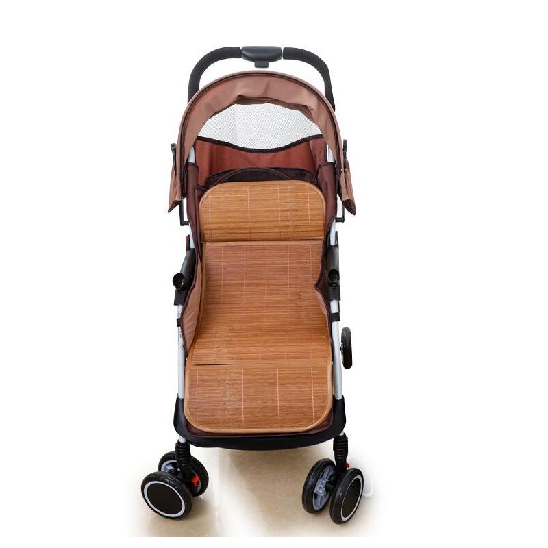 婴儿车推车凉席儿童宝宝冰丝透气夏季小车双面凉垫垫子竹席通用席