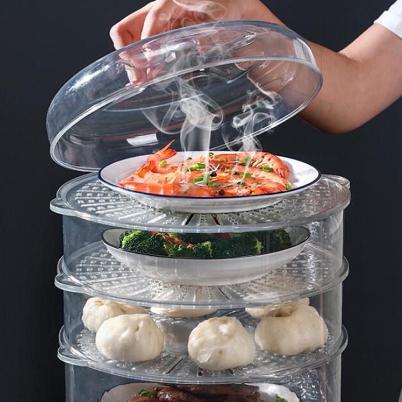 保温菜罩饭菜食物罩冬季加厚防尘加热餐桌保暖饭罩子剩菜盖菜神器