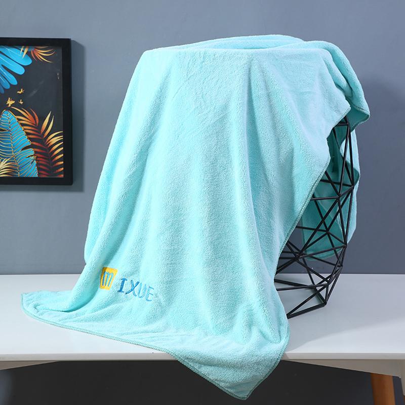 大浴巾家用成人男女士比纯棉全棉吸水婴儿童卡通情侣款速干裹巾夏