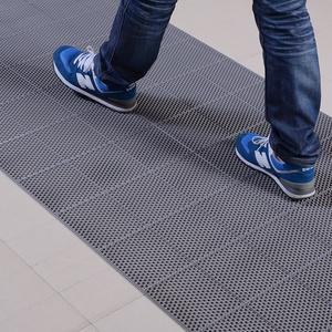 厕所厨房必备防滑S型镂空PVC耐磨地垫