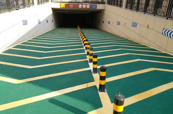 湖南运达广场地下停车库环氧地坪漆施工项目