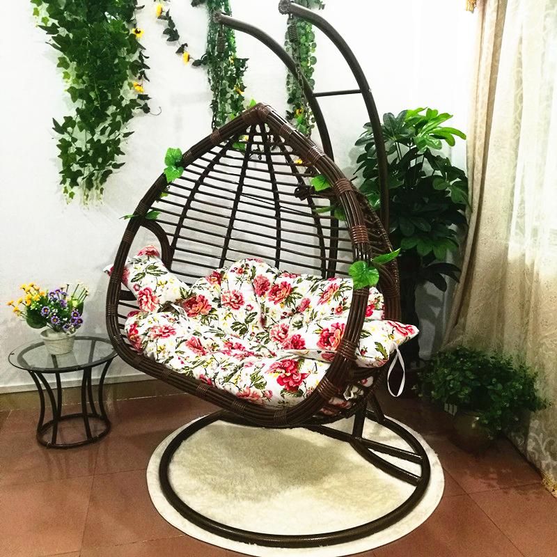 Rattan Rattan Chair Swing Chair Outdoor Indoor Birdu0027s Nest Rattan Basket  Hall Bedroom Double Single Balcony ...