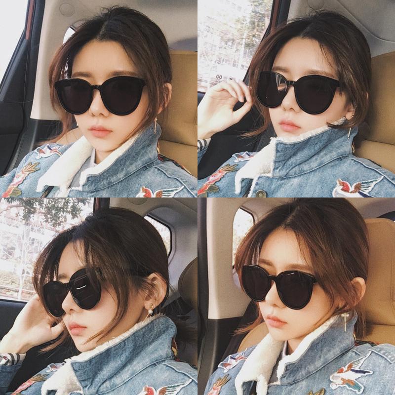 2018 новый темные очки женщина корейский поляризующий очки 2017 звезда чистый красный в этом же моделье ретро harajuku стиль gm очки