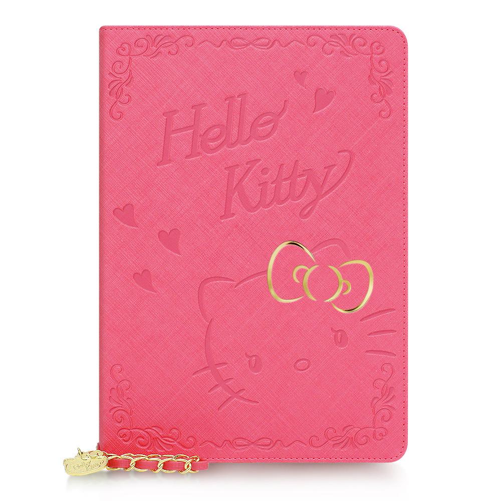 日本凯蒂猫HelloKitty可爱皮套iPadair2迷你3mini4休眠保护正品