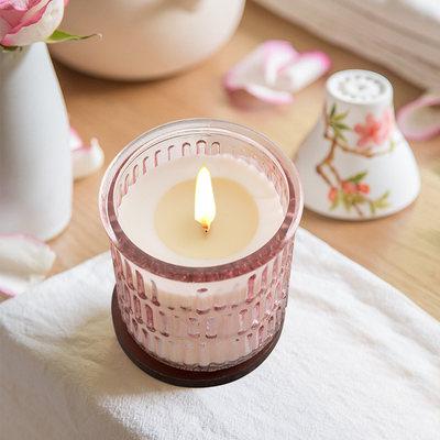 香薰蜡烛杯安神净化空气卧室助眠香薰蜡烛浴室浪漫香氛饰品摆件