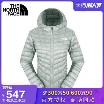 Куртки утеплённые,  Разрешение . продавать  TheNorthFace северная женское лицо на открытом воздухе накопление тепла мяч теплый чтобы играть в пакет стеганый пальто CUD4, цена 8935 руб