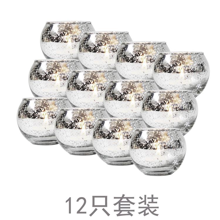 #輕奢現代簡約北歐式樣板房餐桌新品餐廳軟裝飾品金色玻璃蠟燭臺新擺件設#燭臺#裝飾SY021