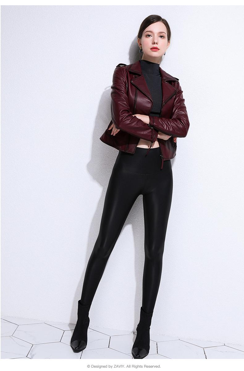 European and American fashion 2020 spring and autumn new Henning sheepskin bodysuit jacket jacket leather woman 52 Online shopping Bangladesh