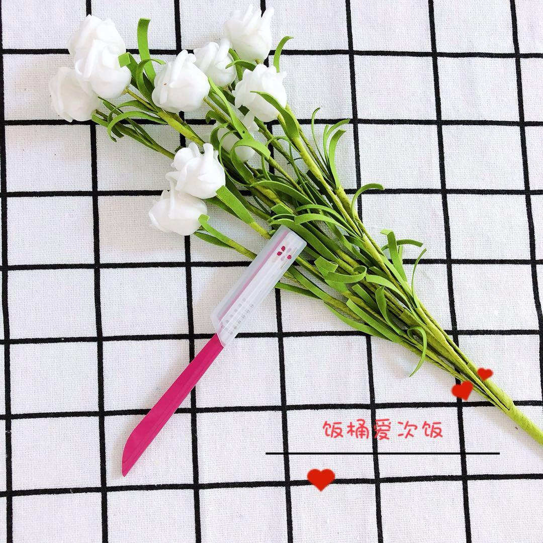 Япония KAI Pui Yin розовый Нож для формирования бровей без Безопасный полностью Чистый ремонт чище, хорошие брови ремонтируются.