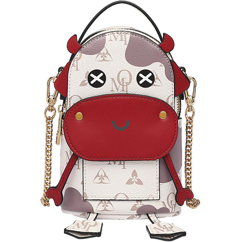 欧米OMI包包女2021新款秋冬时尚单肩包可爱小众设计ins斜挎手提包