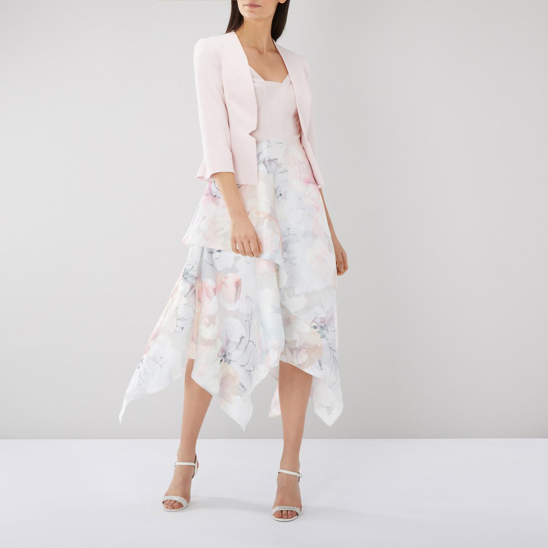 短款品质春秋女装西装a短款OL通勤百搭修身显瘦七分袖知性外套欧美