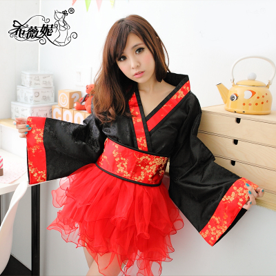 Seduction ladies costumes Photo Studio uniform stage kimono Japanese bathrobe DS863 Siwei Ni
