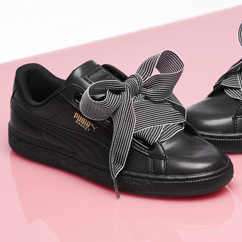 6d5856a7f892 Puma Puma shoes 2018 New Rihanna bow Valentine s day sports shoes casual  shoes 365198-01