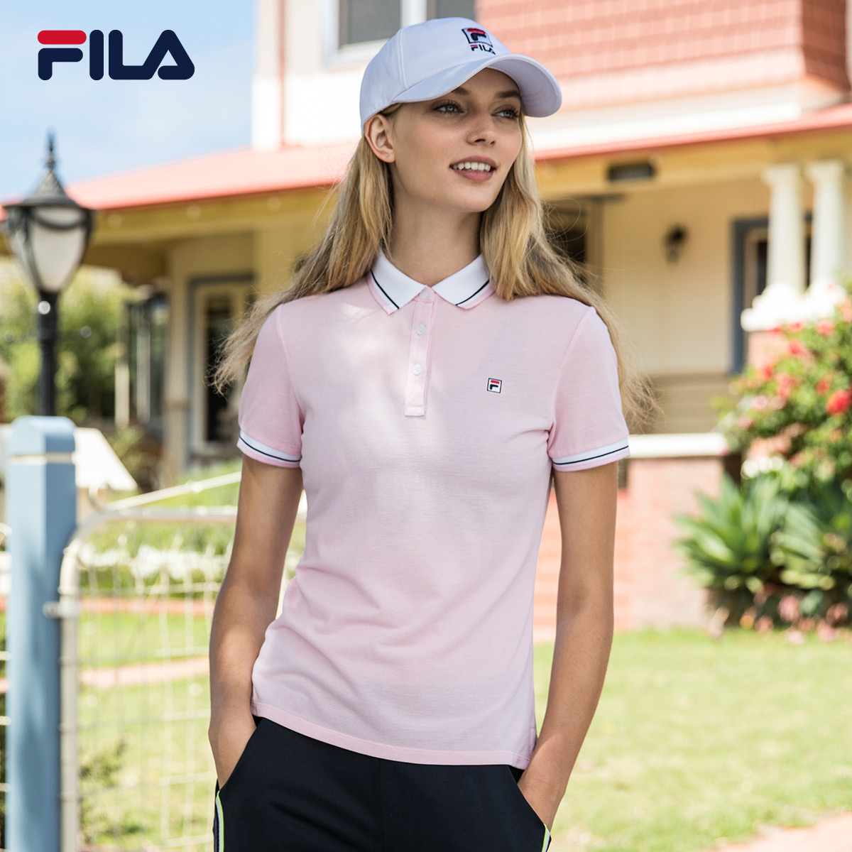 101893095e56 USD 143.75  FILA Fei music Female 2018 summer new breathable ...