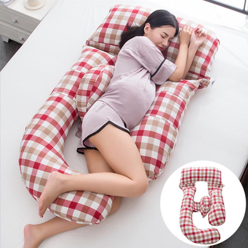 Phụ nữ mang thai gối bên hông gối ngủ nâng bụng bên gối mang thai g loại tạo tác cung cấp đa chức năng gối gối - Nguồn cung cấp tiền sản sau sinh