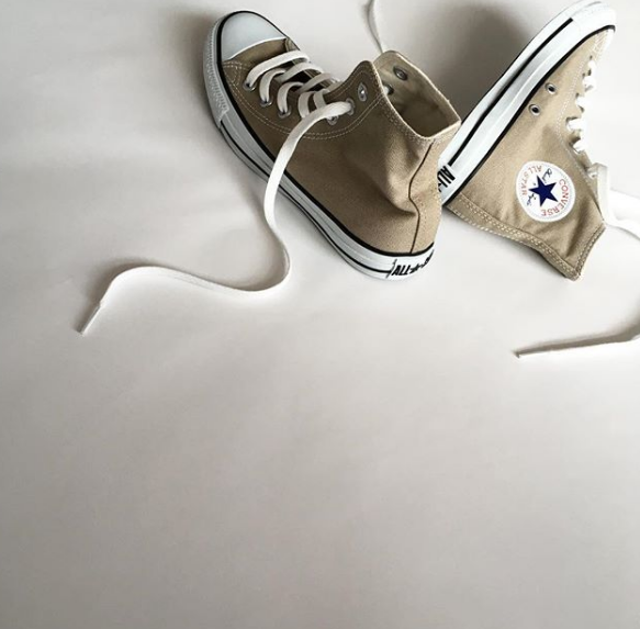 422e59434dc039 USD 154.11  Japanese CANVAS ALL STAR COLORS HI Converse canvas shoes ...