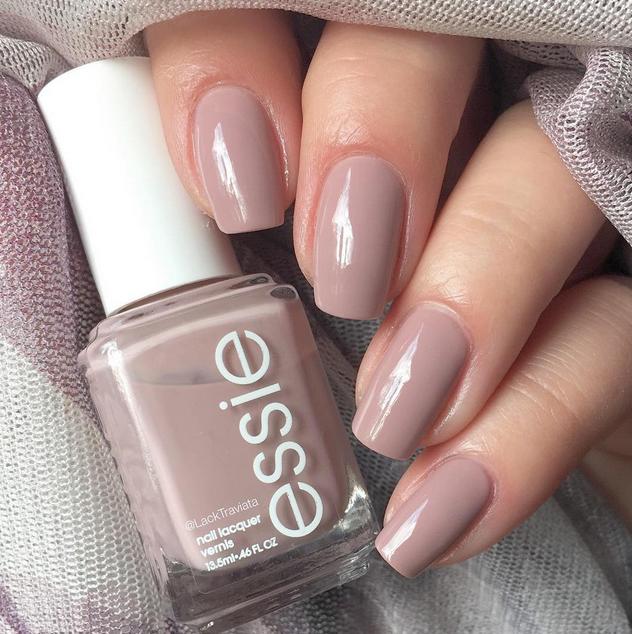 2 Essie nail polish Morandi color line temperament skin tone nude pumpkin  color lasting bright