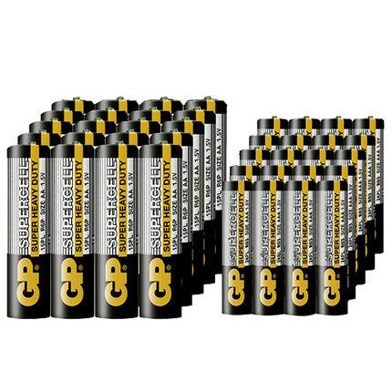 GP 超霸 碳性干电池 5号/7号 20粒