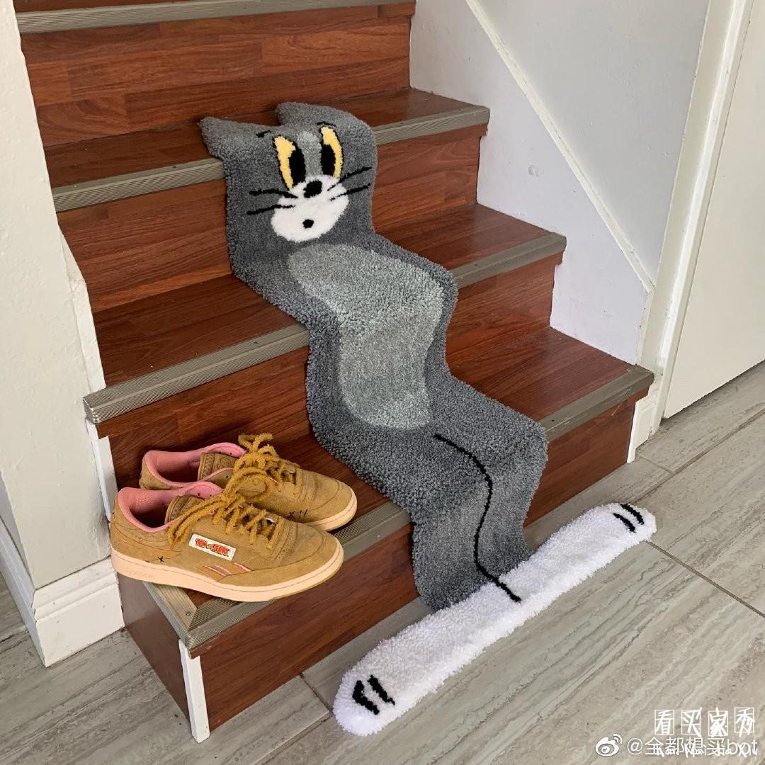 [奇葩买家秀]猫和老鼠地毯买家秀,这是什么神奇的物种