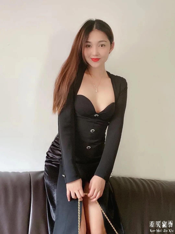 法式复古大尺度连衣裙买家秀,隐隐约约有点性感