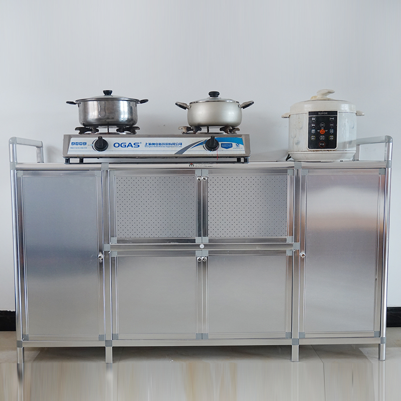 Aluminum Stove Cabinet Stainless Steel