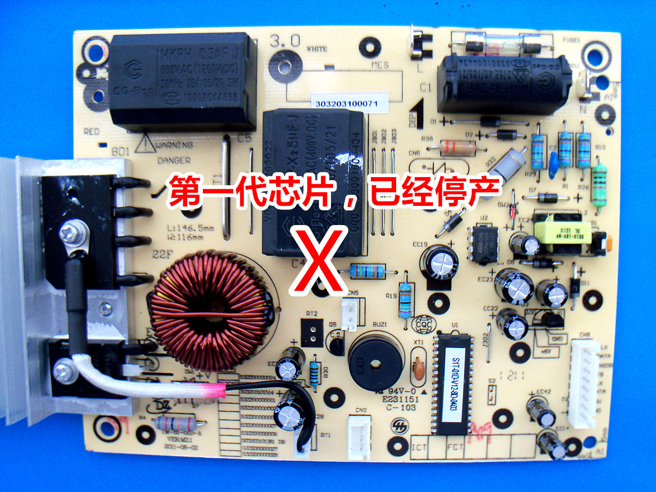 Usd 1506 Midea Induction Cooker St2101 St2105 St2118 Motherboard Picture Of Old Circuit Board S1t 01d V12 Accessories