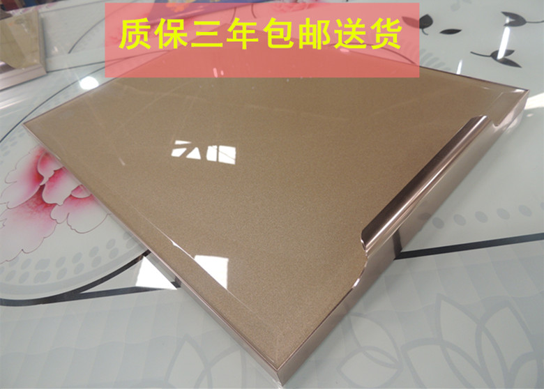 Usd 2671 Cabinet Door Custom Tempered Glass Invisible Crystal