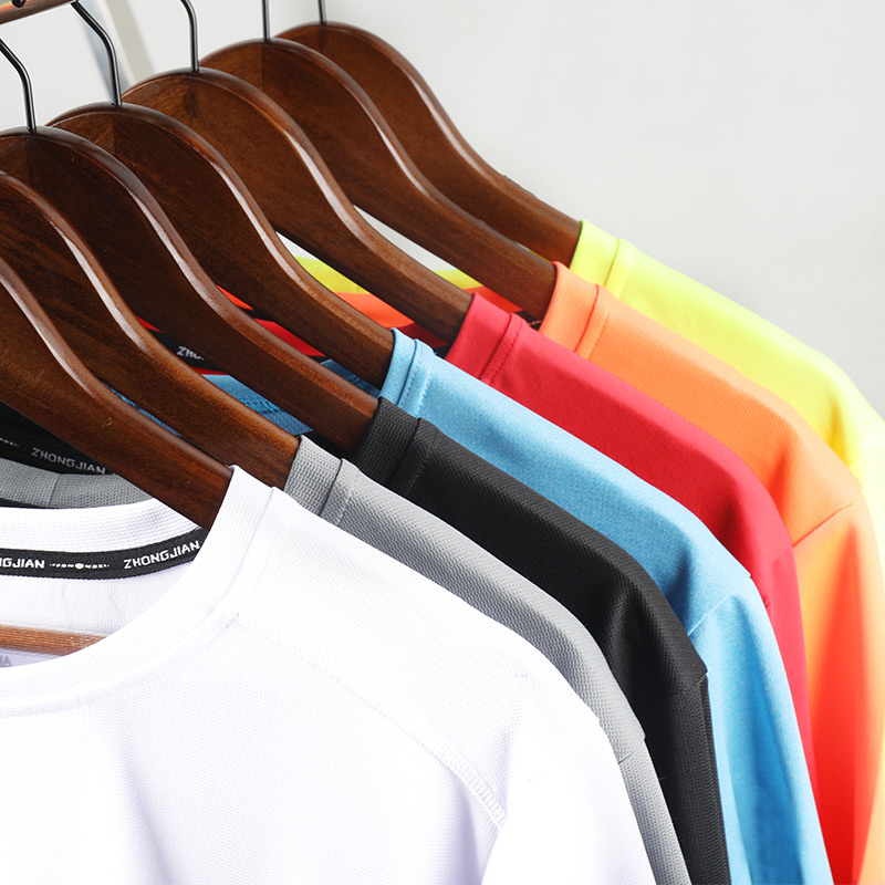 86203a2376c6 Summer sports T-shirt short-sleeved shirt men s outdoor quick-drying running  clothes round neck loose half-sleeved fitness clothing women