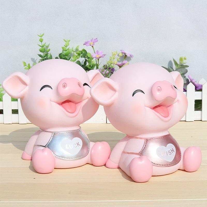 小猪存钱罐女公主儿童防摔宝宝十二生肖男孩小女孩创意可爱储蓄罐