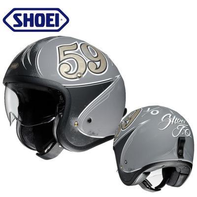 现货 SHOEI JO复古盔哈雷半盔摩托车头盔透气夏季男保暖女机车