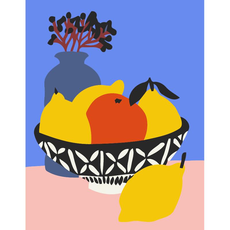 3L112 фрукты(Раскраска покупателя