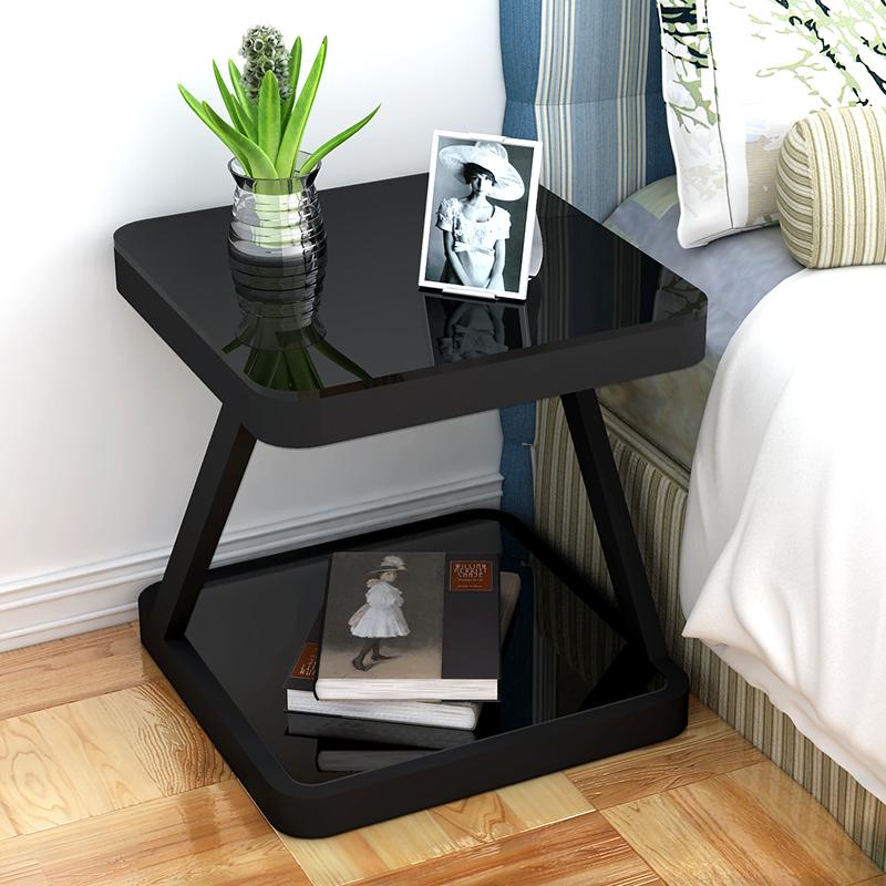 Прикроватная тумбочка проста поколение Спальня складной столик креативный шкафчик небольшой шкаф в сборе простой прикроватный шкаф