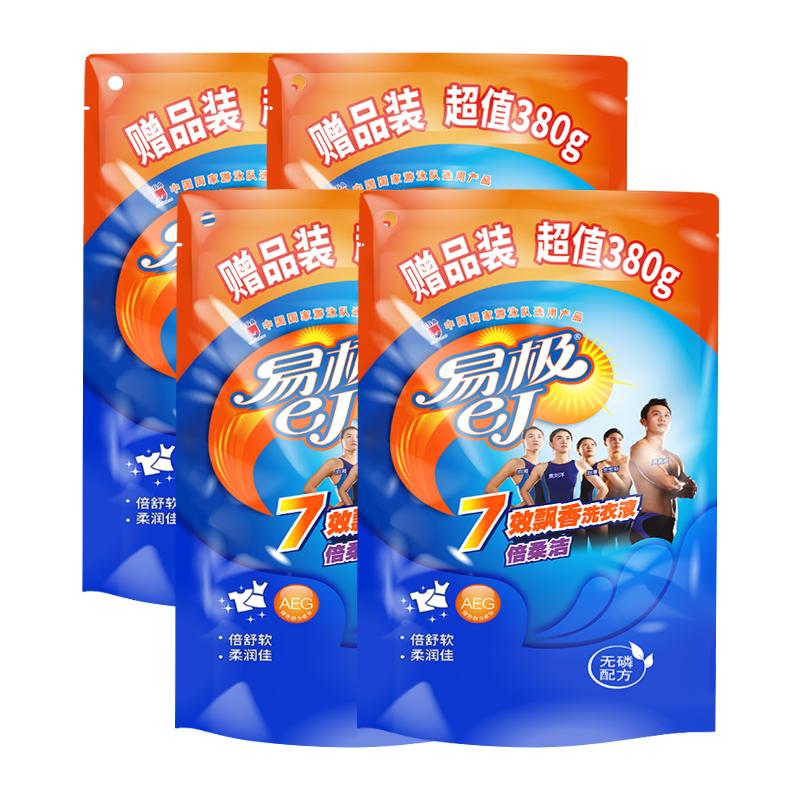 【易极】家用7效飘香洗衣液1520g
