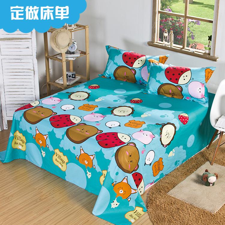 JEJOAI/ главная любовь стандарт один детская кроватка один хлопок мультики комната с несколькими кроватями лист хлопок находятся одна упаковка почта