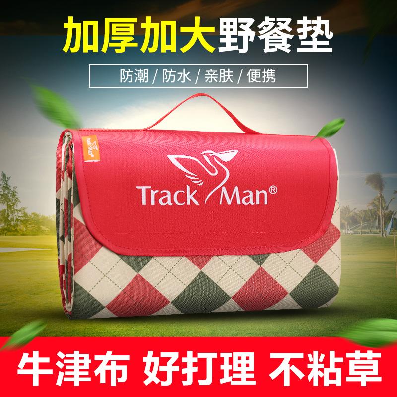 Trackman на открытом воздухе oxford портативный пикник площадка толстый весна тур коврик дикий кок коврики влага пикник ткань