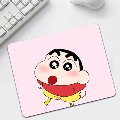 Crayon Shin-Chan cartoon mouse pad custom small thickened mouse pad notebook portable gaming mouse pad anime