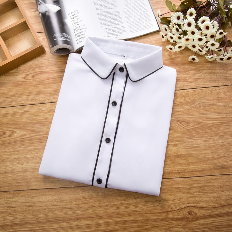 韩范雪纺衬衫