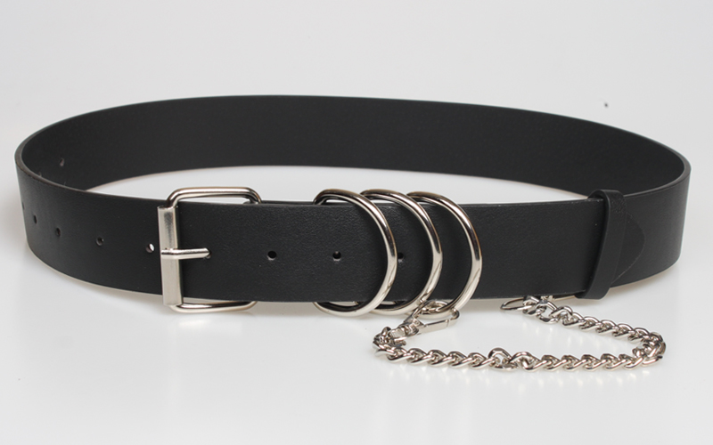 punk style chain ring decorative belt  NHJSR336948